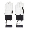 Norrøna røldal dri PrimaLoft Short leather Gloves White
